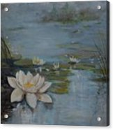 Perfect Lotus - Lmj Acrylic Print
