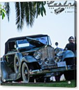 Perfect Packard Acrylic Print