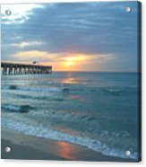 Perfect Peace At 6 A.m. Acrylic Print