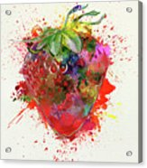 Perfect Strawberry Acrylic Print