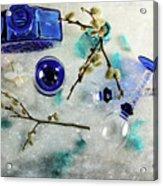 Perfectly Blue Acrylic Print