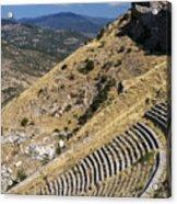 Pergamon Amphitheater Acrylic Print