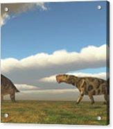 Permian Inostrancevia Hunts Keratocephalus Acrylic Print