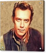 Pernell Roberts, Vintage Actor Acrylic Print