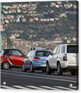 Perpendicular Parking Acrylic Print