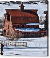 Perry Park Barn Acrylic Print