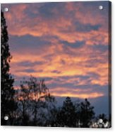 Perrydale Sunrise Acrylic Print