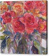Per's Roses Acrylic Print