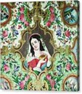 Persian Lady Acrylic Print