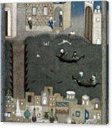 Persian Miniature, 1468 Acrylic Print
