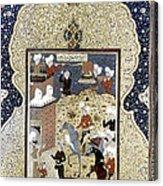 Persian Nobleman Acrylic Print