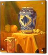 Persian Vase And Fruit Jar Acrylic Print