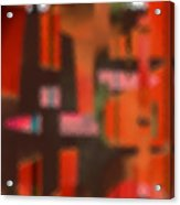 Persona - Obscured Idol Adherence 2015 Acrylic Print