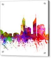 Perth Australia Cityscape 02 Acrylic Print