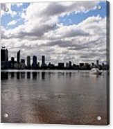 Perth City From South Perth Foreshore  Acrylic Print