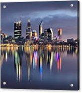 Perth My Beautiful City Acrylic Print