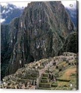 Peru: Machu Picchu Acrylic Print
