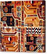 Peru: Tunic Fragment Acrylic Print