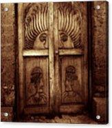 Peruvian Door Decor 11 Acrylic Print