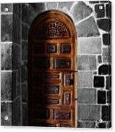Peruvian Door Decor 13 Acrylic Print