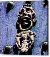 Peruvian Door Decor 7 Acrylic Print