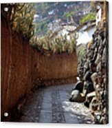 Peruvian Pathway Acrylic Print
