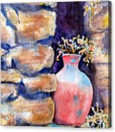 Peruvian Pot Acrylic Print