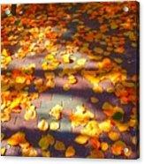 Petals Of Faith Acrylic Print
