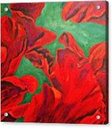Petals Of Fire Acrylic Print