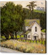 Petaluma Farmhouse Acrylic Print
