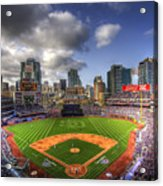 Petco Park Opening Day Acrylic Print by Shawn Everhart
