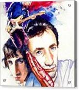 Pete Townshend Acrylic Print