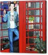 Peter Capaldi Dr Who Putting You Through Acrylic Print
