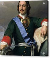 Peter I The Great Acrylic Print
