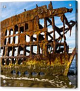 Peter Iredale Shipwreck - Oregon Coast Acrylic Print