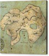 Peter Pan Neverland Acrylic Print by Craig Wetzel