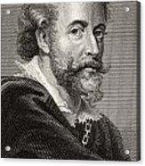 Peter Paul Rubens, 1577-1640. Flemish Acrylic Print