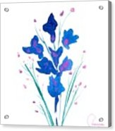 Petit Bouquet Acrylic Print