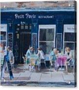 Petit Paris Acrylic Print