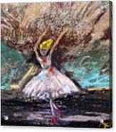 Petite Ballerina Acrylic Print