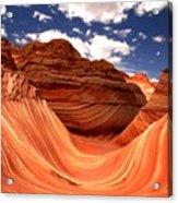 Petrified Dunes Landscape Acrylic Print