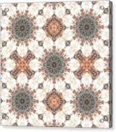 Petrified Folk Tapestry Acrylic Print