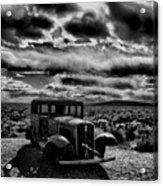 Petrified Forest Car  Acrylic Print