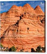 Petrified Sand Dunes Acrylic Print