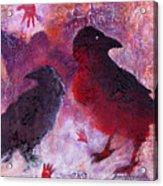Petro Raven Acrylic Print