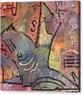 Petroglyph Quilt Acrylic Print