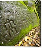 Petroglyphs At An Archaeological Site Acrylic Print