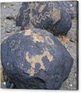Petroglyphs By Hohokam People, Circa Acrylic Print