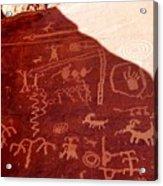 Petroglyphs Acrylic Print