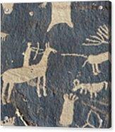 Petroglyphs, Utah Acrylic Print